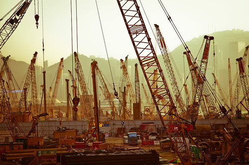 Construction Galore by Chung Ho Leung