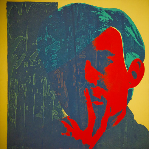 Andy Warhol Self-Portrait by Sean Davis