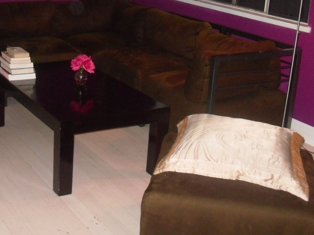 chocolate sectional  $300.00