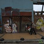 Street Scene in Valparaiso, Chile