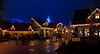 Themeworld Island with lights at Europa-Park