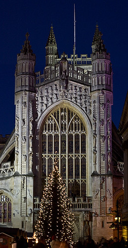 Bath Abbey christmas market