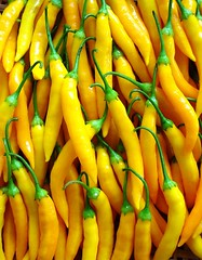 vegetable, yellow, bell peppers and chili peppers, bird's eye chili, produce, food,