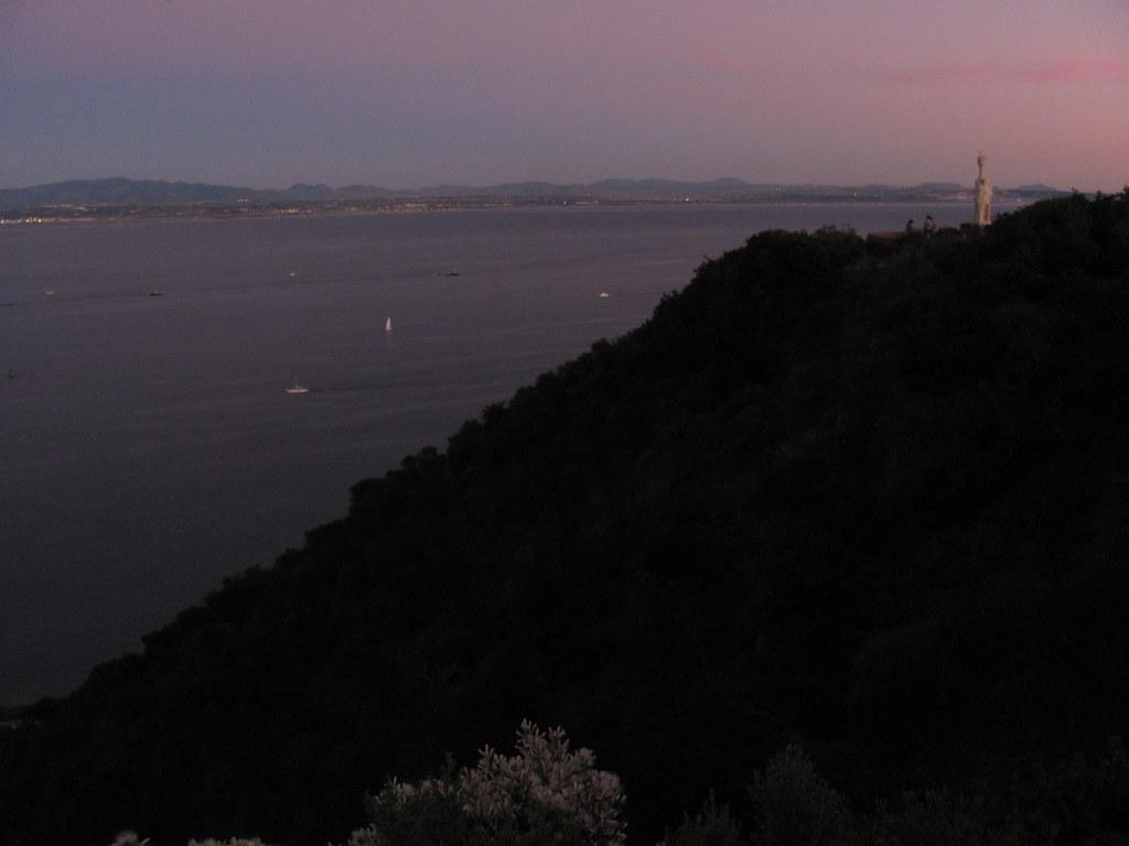 Old Point Loma Lighthouse San Diego County California