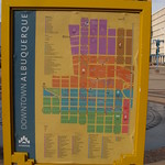 Map of Downtown Albuquerque, New Mexico