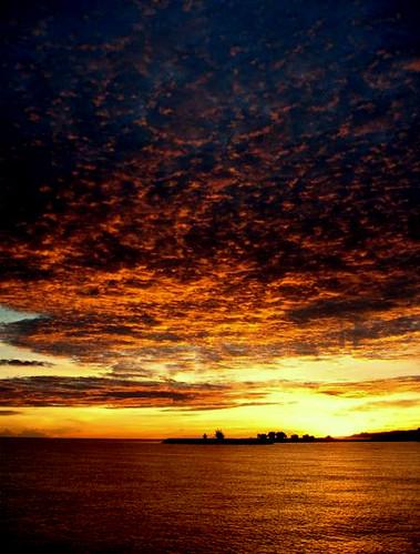 beach clouds sunrise heaven earth brunei jerudong