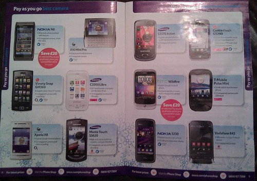 tesco android mobile phones