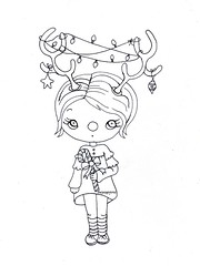 Free coloring page for your little one...or you