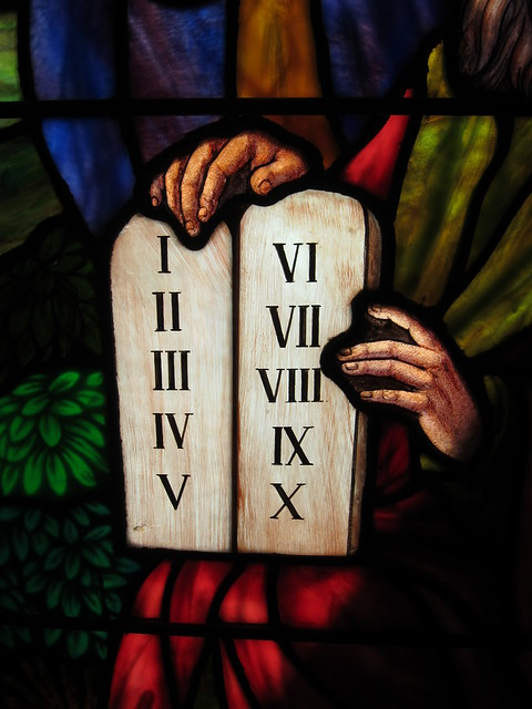 The 10 Commandments from Flickr via Wylio