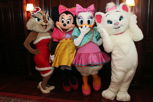 Clarice, Minnie Mouse, Daisy Duck and Marie | Flickr ...