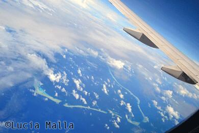 Voando pela Micronésia