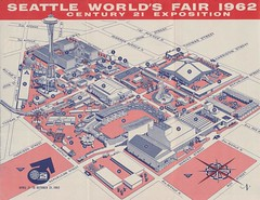 Seattle World S Fair 1962 Map Of The Fairgrounds 1 U S S Flickr