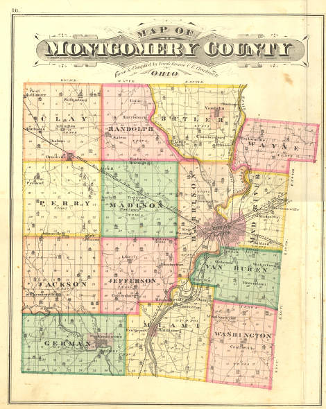 Montgomery County 1875 Atlas | Flickr - Photo Sharing!