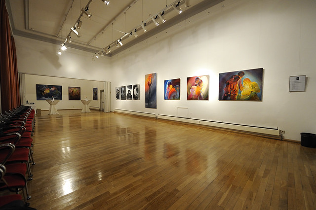 Der Ausstellungsraum