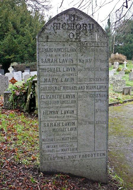 Lavin Family Grave