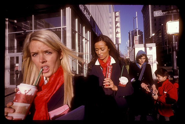 Downtown Girls in Kodachrome 25