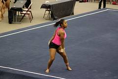 TWU Gymnastics Floor - Rashonda Cannie