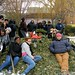 Mulchfest, great Parks Dept. staff with buildOn youth!
