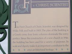 First Church of Christ Scientist Downtown San Jose, California