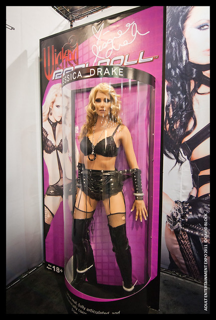 ADULT ENTERTAINMENT EXPO 2011. Real Doll of Jessica Drake
