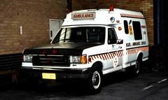 1990 Ford F-250 ambulance