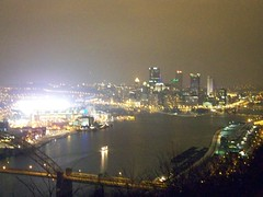 West End Overlook during Steelers Game