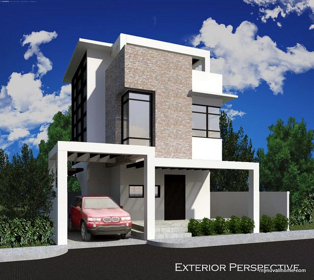 Nuvali House - Exterior Perspective