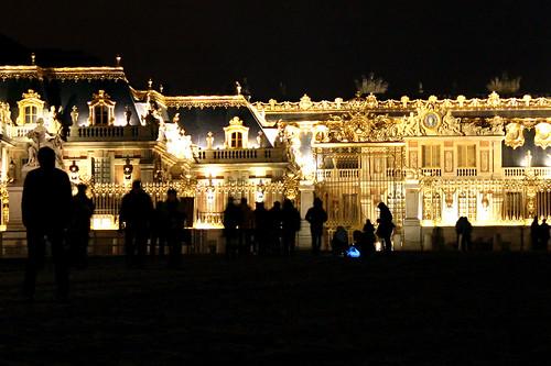 La Cour d'Honneur du chateau de Versailles