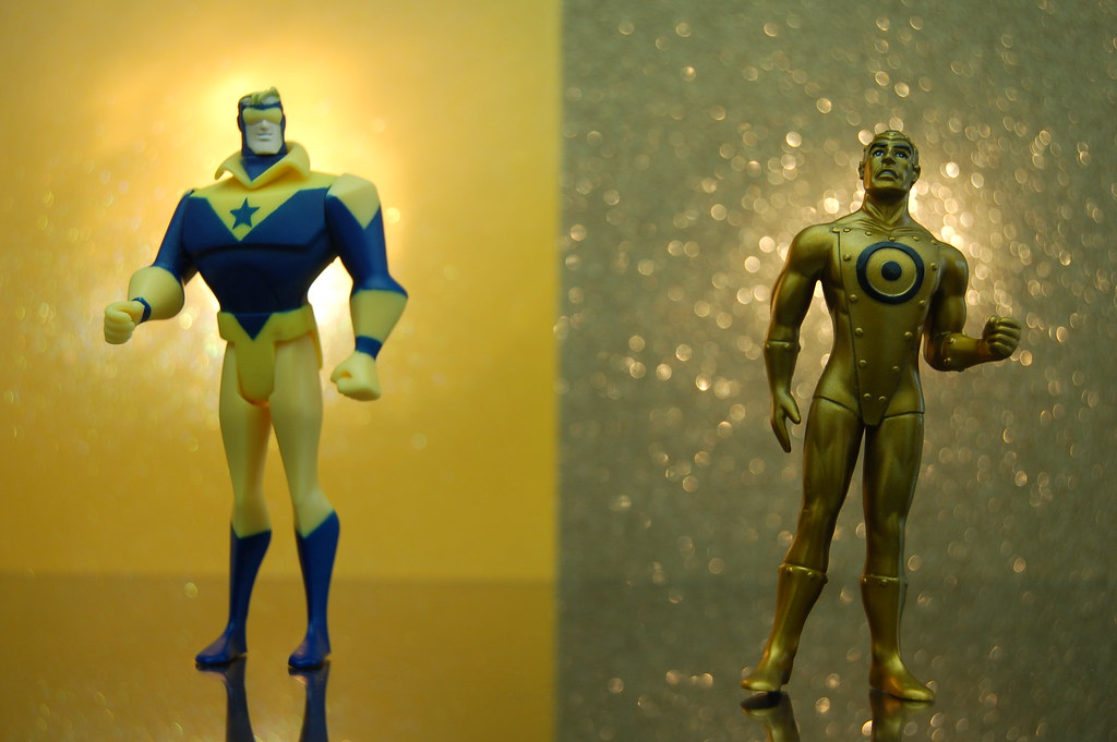 Booster Gold vs. Gold (331/365)