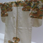 Flowering Plant Noh (Nuihaku) Costume