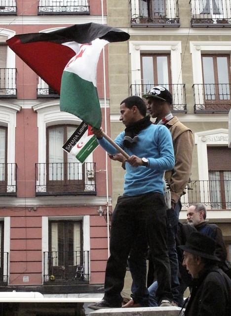 Manifestación Sáhara Libre
