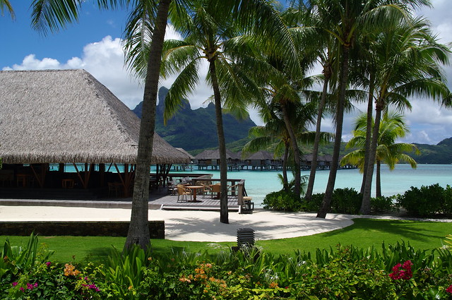 Four Seasons Resort Bora Bora Garden
