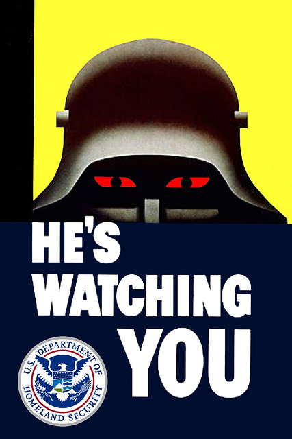 He Has You Under Surveillance To Keep You Safe