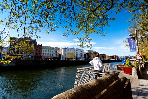 Liffey view - summer