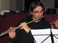 violinist(0.0), bassist(0.0), string instrument(0.0), oboe(0.0), guitarist(0.0), violist(0.0), flute(1.0), musician(1.0), western concert flute(1.0), music(1.0), flautist(1.0), wind instrument(1.0),