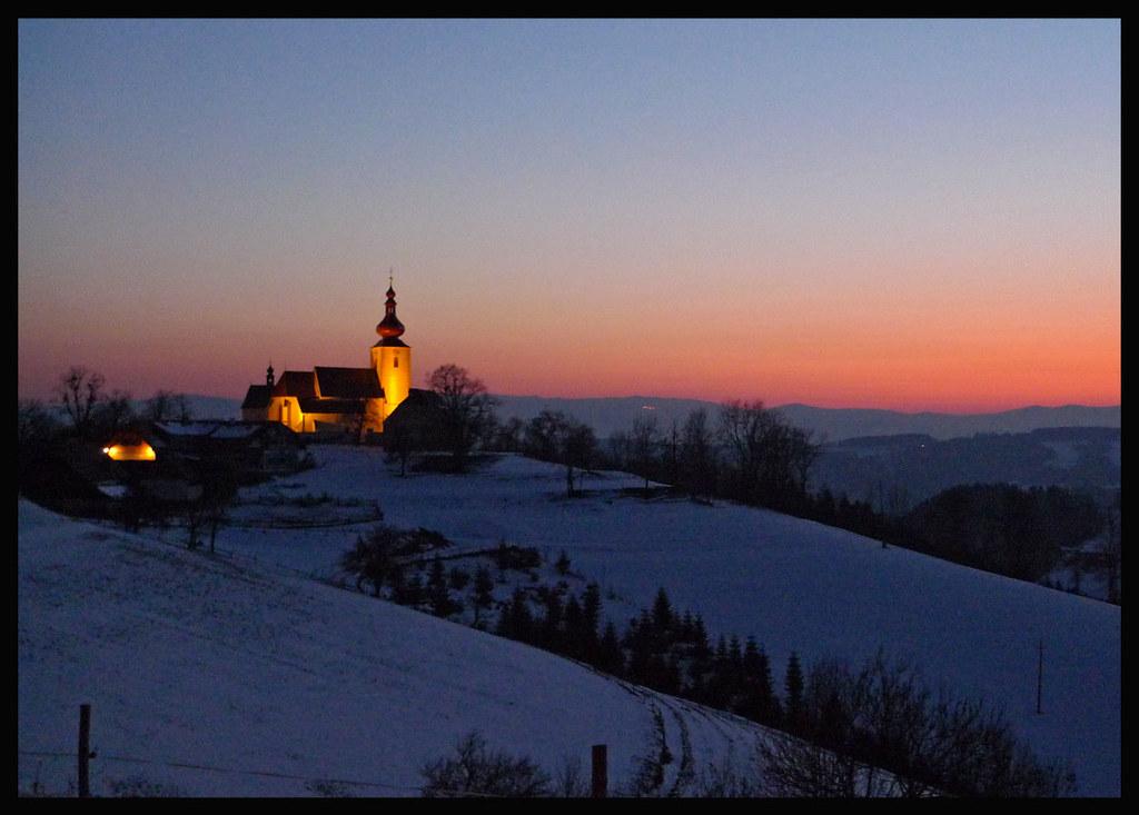St Pankrazen Minus 11 Degrees Celsius Some Days Before Flickr