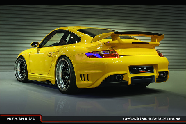 prior design porsche gt2 aerodynamic kit flickr photo. Black Bedroom Furniture Sets. Home Design Ideas