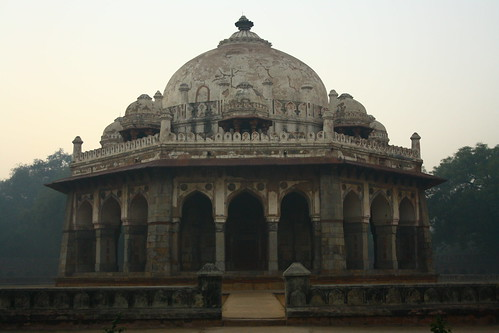 morning sunrise delhi tomb complex 2010 humayuns