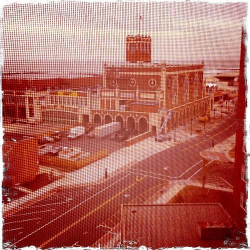 View from 12.19.10 @ Berkeley Oceanfront Hotel (1401 Ocean Ave., Asbury Park, NJ).