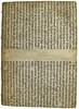 Binding using printed matter from Beda [pseudo-]: Repertorium auctoritatum Aristotelis et aliorum philosophorum