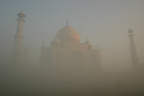 Sunrise at Taj Mahal