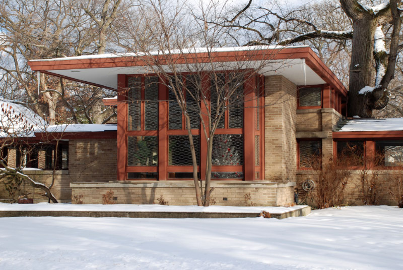 Isabel roberts house 1908 by frank lloyd wright flickr for Frank lloyd wright river house