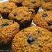 100% Whole Grain Blueberry Bran Muffins