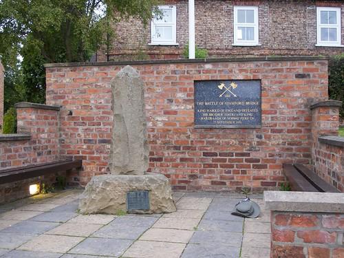 Monument to Battle of Stamford Bridge