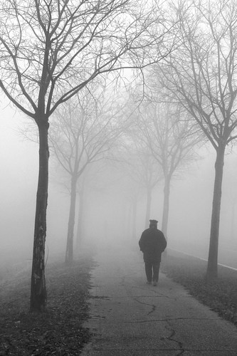 walk in the fog by Claudio61 una foto ferma un ricordo nel tempo