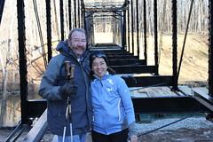 Jerry & Nancy at new bridge