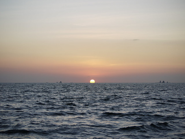 Ocean sunset from Flickr via Wylio