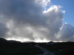 Storm Brewing Over Ingleton, Yorkshire