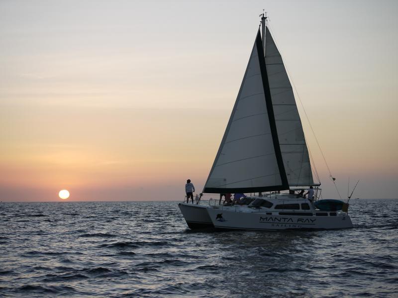 Do some sunset sailing