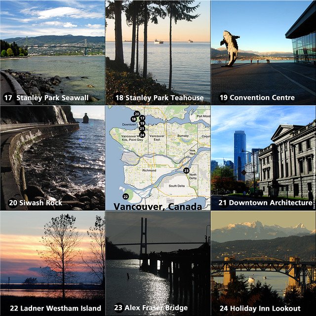 Gord's Favourite Vancouver Viewpoints (17 through 24)